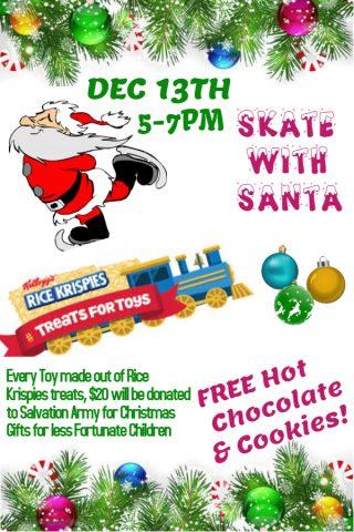 Skate with Santa @ Consort Sportex